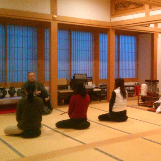 西林寺坐禅会