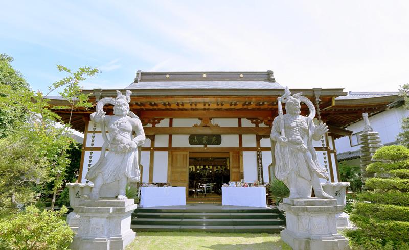 西林寺での仏前結婚式の様子
